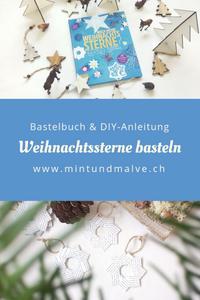 MINT & MALVE Buchtipp + DIY: Noch mehr Weihnachtssterne? Gerne! Ina Mielkau, EMF Verlag, 2018