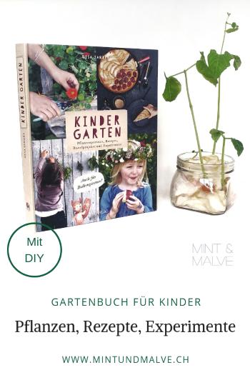 Buchtipp MINT & MALVE: KinderGarten, Gesa Sander, AT Verlag, 2019
