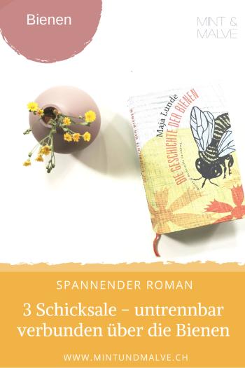 Buchtipp MINT & MALVE: Die Geschichte der Bienen - Maja Lunde (Büchergilde Gutenberg, 2017)