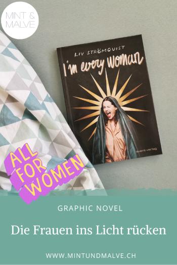 Buchtipp MINT & MALVE: I'm every woman, Liv Strömquist, avant-verlag, 2019