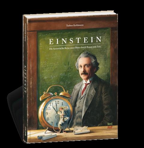 MINT & MALVE Buchtipp: Einstein - Die fantastische Reise einer Maus durch Raum und Zeit - Torben Kuhlmann (NordSüd, 2020)