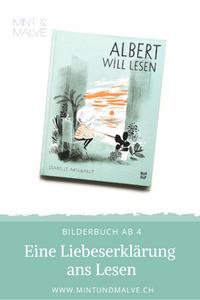 Buchtipp MINT & MALVE: Albert will lesen, Isabelle Arsenault, NordSüd Verlag, 2020