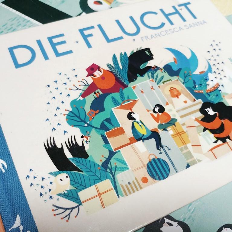 Die Flucht, Francesca Sanna, 2016, NordSüd Verlag