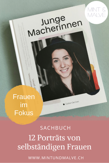 Buchtipp MINT & MALVE: Junge Macherinnen - Rachele De Caro (Édition De Caro, 2019)