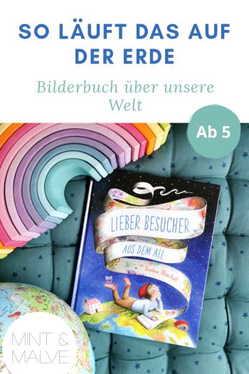 Buchtipp mint & malve: Lieber Besucher aus dem All - Sophie Blackall (NordSüd Verlag 2020)