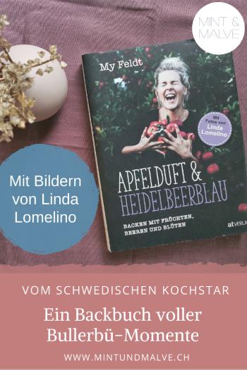Buchtipp MINT & MALVE: Apfelduft & Heidelbeerblau - My Feldt (AT Verlag, 2019)