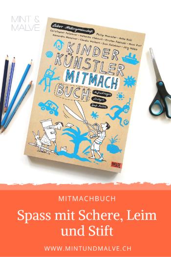 Buchtipp MINT & MALVE: Kinder Künstler Mitmachbuch, Labor Ateliergemeinschaft, Beltz & Gelberg, 2019