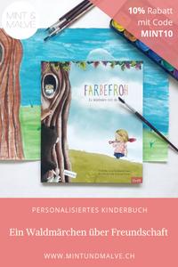 Buchtipp MINT & MALVE (mit Rabattcode): Farbenfroh, personalisiertes Kinderbuch von LIbrio