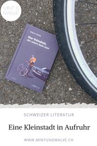 Buchtipp MINT & MALVE: Der Velodieb, der unters Auto kam, Simon Libsig, Librium, 2018