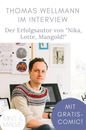 mint & malve: Interview mit Thomas Wellmann - Comic-Zeichner und Comic-Autor