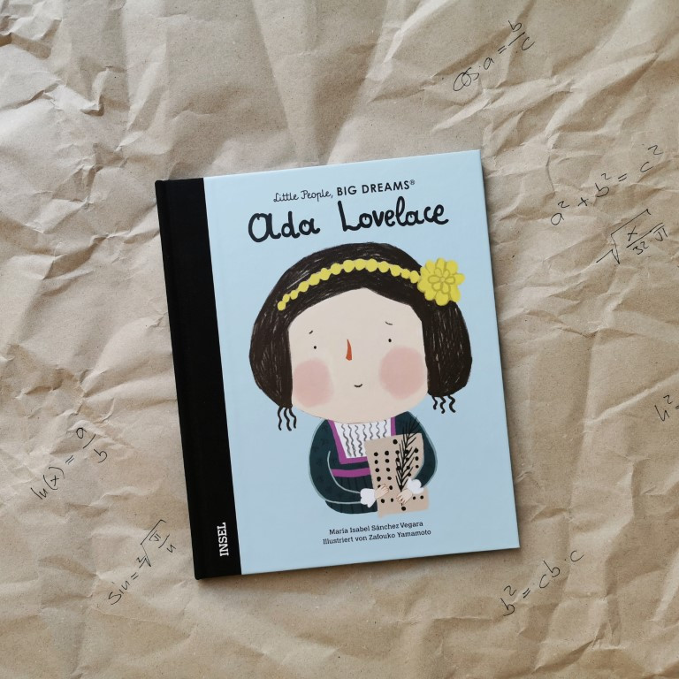 Ada Lovelace. Little People, Big Dreams - Sánchez Vegara, Yamamoto (Insel, 2021)