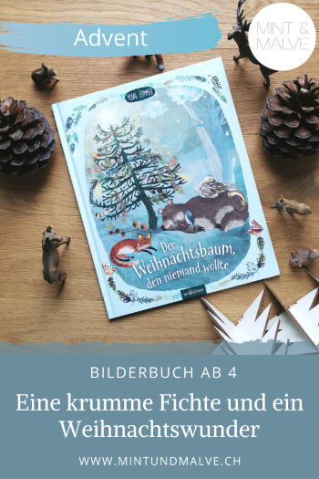 Buchtipp MINT & MALVE: Der Weihnachtsbaum, den niemand wollte - Yuval Zommer (arsEdition 2020)