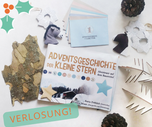 """Verlosung MINT & MALVE: Adventsgeschichte """"Der kleine Stern"""""""