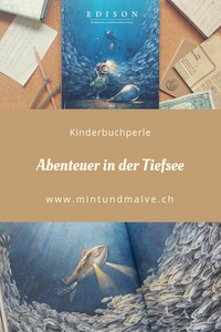 MINT & MALVE Buchtipp: Edison, Torben Kuhlmann, NordSüd Verlag, 2018, ab 5 Jahren