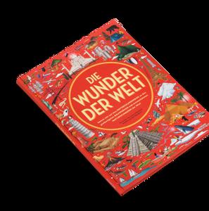 Cover: Die Wunder der Welt, Lucy Letherland, Ben Hardicott, Kleine Gestalten, 2019