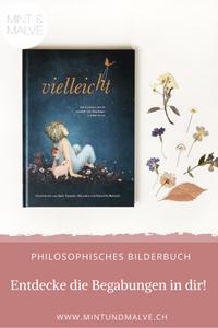Buchtipp MINT & MALVE: Vielleicht, Kobi Yamada, Gabriella Barouch, Adrian Verlag, 2019