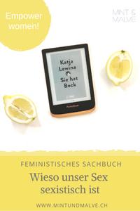 Buchtipp MINT & MALVE: Sie hat Bock - Katja Lewina (Dumont, 2020)