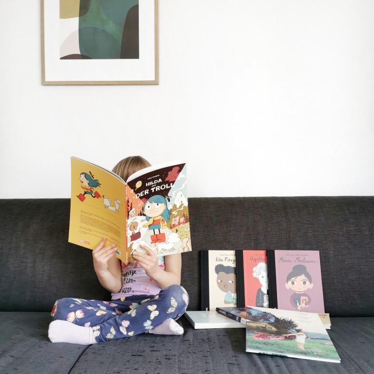 MINT & MALVE: Buchtipps zum Schweizer Vorlesetag 2020 - klischeefreie Kinderbücher