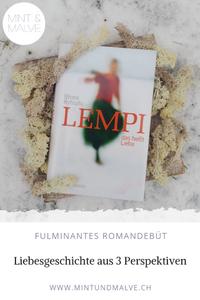 Buchtipp MINT & MALVE: Lempi, das heisst Liebe, Minna Rytisalo, Hanser Verlag, 2018