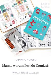 MINT & MALVE Buchtipps: Graphic Novels präsentiert von Literaturpower