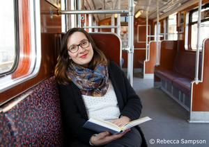 Trude Schneider, Literaturpower, Copyright: Rebecca Sampson