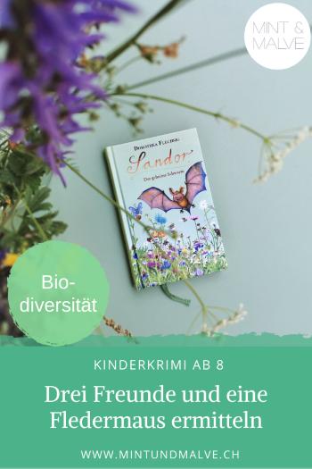 Buchtipp MINT & MALVE: Sandor - Der geheime Schwarm, Dorothea Flechsig, Glückschuh Verlag, 2019