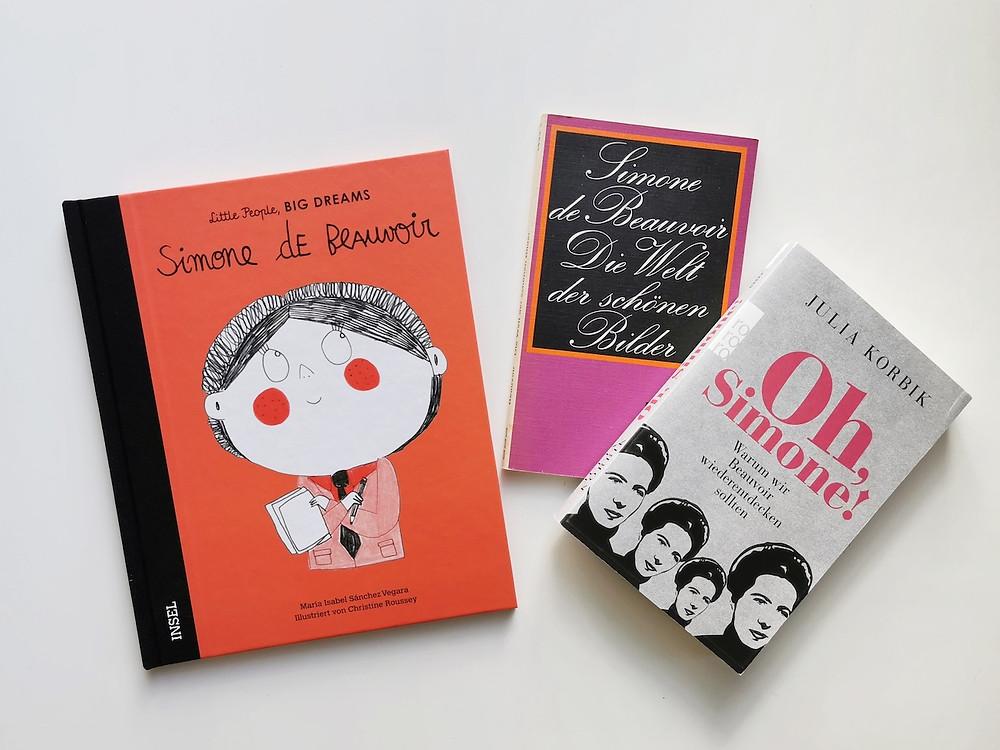 Simone de Beauvoir im Kinderbuch, im Sachbuch und als Autorin