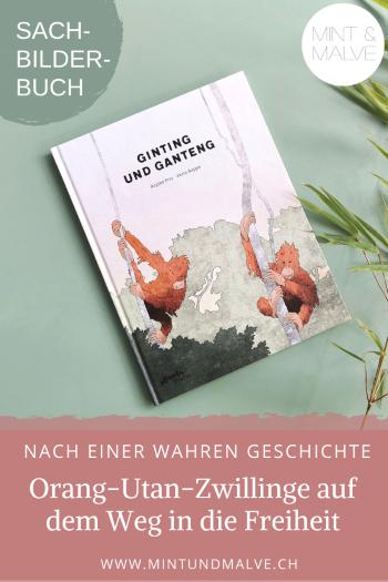 Buchtipp MINT & MALVE: Ginting und Ganteng - Regina Frey und Petra Rappo (Atlantis 2020)