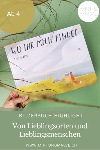 Buchtipp MINT & MALVE: Wo ihr mich findet - Taltal Levi (NordSüd Verlag 2020)