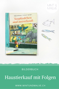 Buchtipp MINT & MALVE: Seepferdchen sind ausverkauft - Constanze Spengler und Katja Gehrmann, Moritz Verlag, 2020