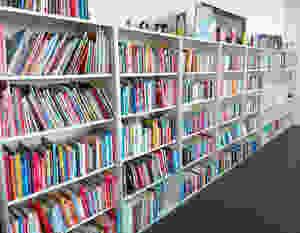 Die Bibliothek vom Zentrum Lesen der FHNW, Copyright FHNW