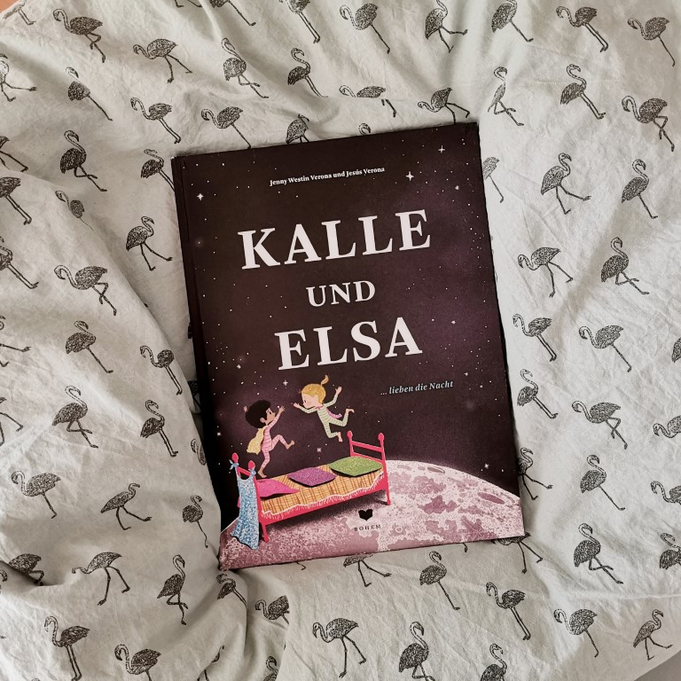 MINT & MALVE Buchtipp: Kalle und Elsa lieben die Nacht - Jenny Westin Verona, Jesús Verona (Bohem, 2020)