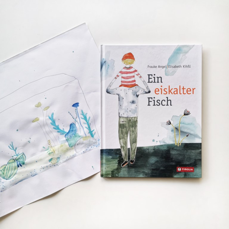 MINT & MALVE Buchtipp: Ein eiskalter Fisch, Frauke Angel und Elisabeth Kihssl, Tyrolia, 2020