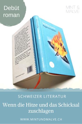 Buchtipp MINT & MALVE: Regenschatten - Seraina Kobler (Kommode Verlag, 2020)