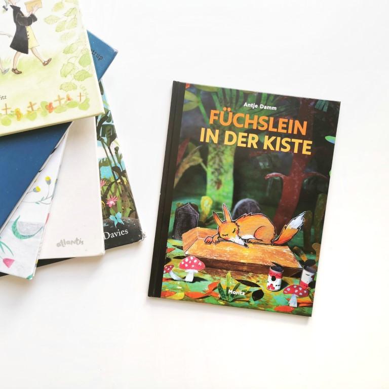 MINT & MALVE Buchtipp: Füchslein in der Kiste - Antje Damm (Moritz Verlag 2020) und andere Bilderbücher