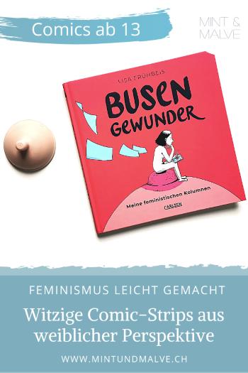 Buchtipp MINT & MALVE: Busengewunder - Lisa Frühbeis (Carlsen, 2020)
