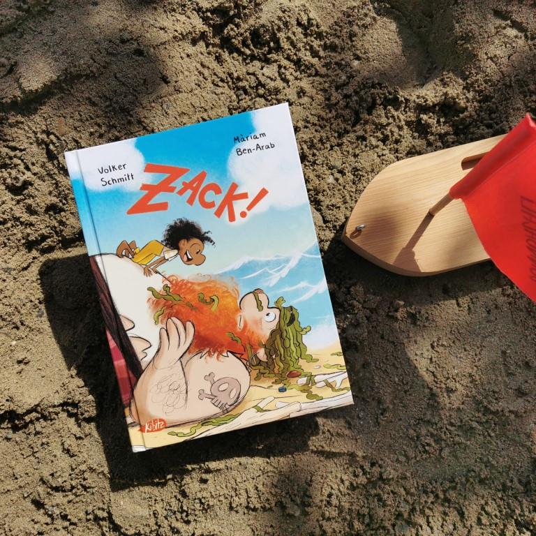Zack! - Volker Schmitt, Màriam Ben-Arab (Kibitz Verlag, 2021)