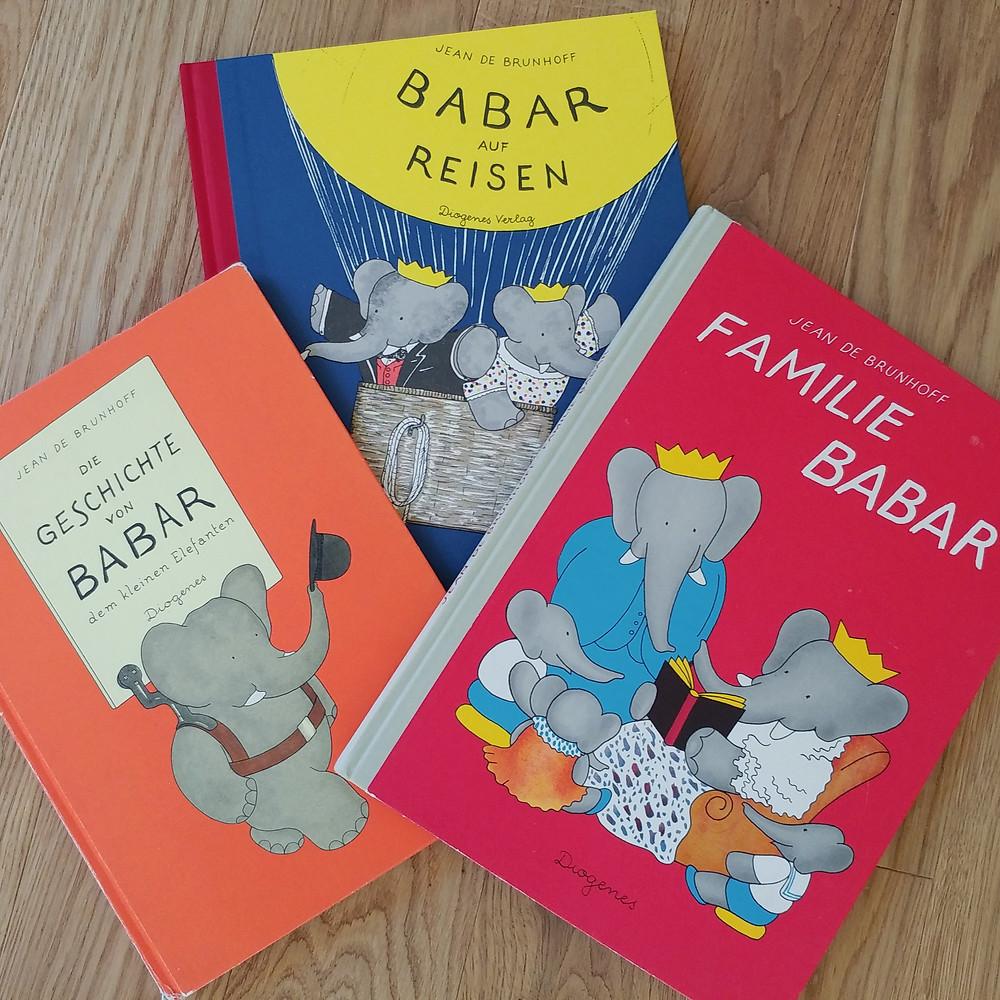 Die Geschichte von Babar, Titelbilder