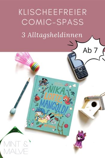 mint & malve Buchtipp: Nika, Lotte, Mangold! - Thomas Wellmann (Rotopol 2017)
