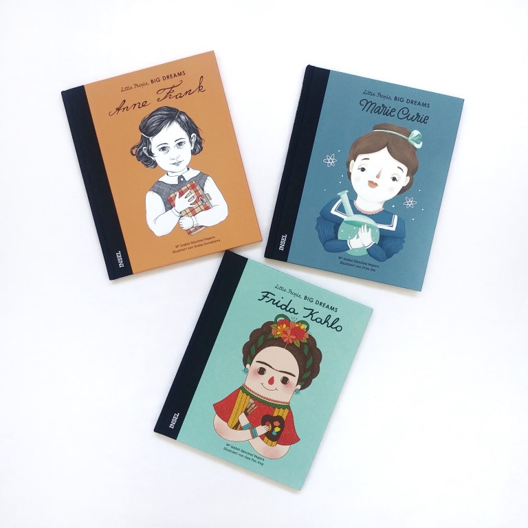 MINT & MALVE Buchtipp: Little People, Big Dreams, Isabel Sánchez Vegara, Insel Verlag, 2019