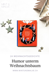 Buchtipp MINT & MALVE: vier kerzen drei könige zwei augen ein stern, Arne Rautenberg, Katrin Stangl, Peter Hammer Verlag, 2019