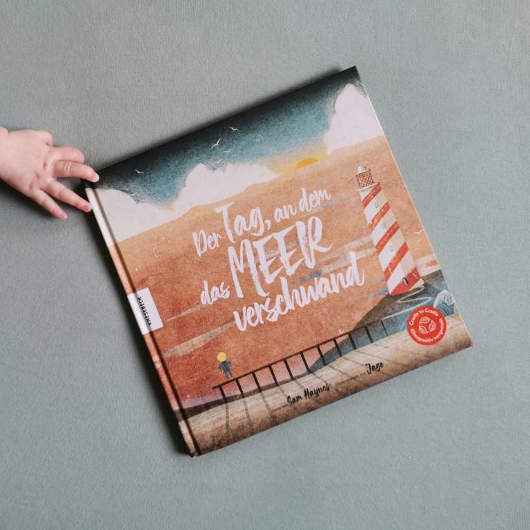 MINT & MALVE Buchtipp: Der Tag, an dem das Meer verschwand, Sam Haynes, Jago, Knesebeck, 2020