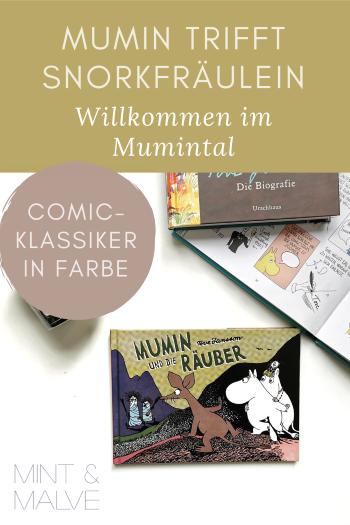 mint & malve Buchtipp: Mumin und die Räuber - Tove Jansson (Reprodukt 2021)