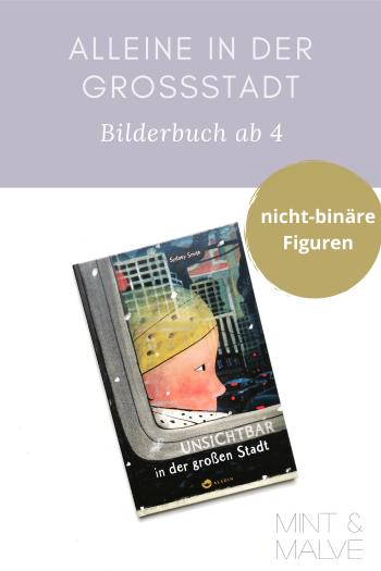 Buchtipp mint & malve: Unsichtbar in der grossen Stadt - Sidney Smith (Aladin Verlag 2020)