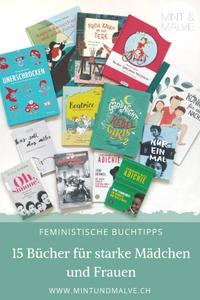 Buchtipps MINT & MALVE: 15 Bücher für starke Mädchen und Frauen