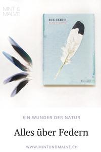 Buchtipp MINT & MALVE: Die Feder, Britta Teckentrup, Prestel junior, 2018