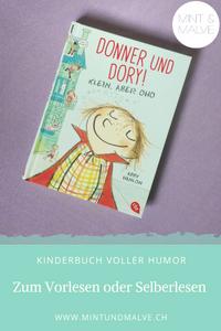 Buchtipp MINT & MALVE: Donner und Dory! Klein, aber oho. Abby Hanlon, cbt Verlag, 2015