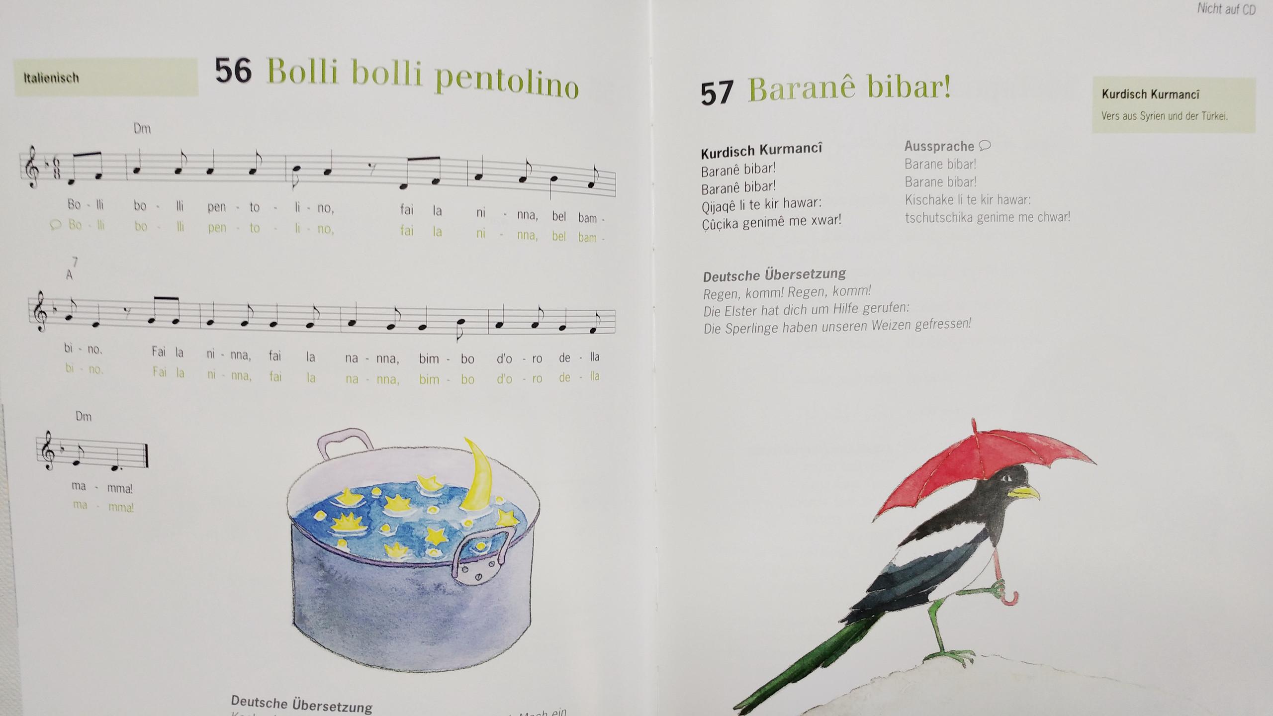 Bolli bolli pentolino + Baranê bibar