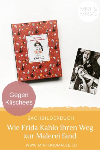 Buchtipp MINT & MALVE: Frida Kahlo - Isabel Thomas und Marianna Madriz (Laurence King Verlag, 2020)