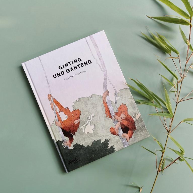 MINT & MALVE Buchtipp: Ginting und Ganteng - Regina Frey und Petra Rappo (atlantis 2020)